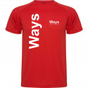 T-SHIRT ROSSO WAYS